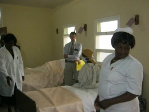 MBH TB Observation Ward opening April 2013.