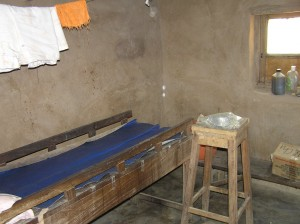Delivery room at Nkot Primary Heath Center.
